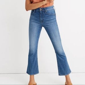 Madewell Curvy Cali Demi-Boot Jeans Size 27